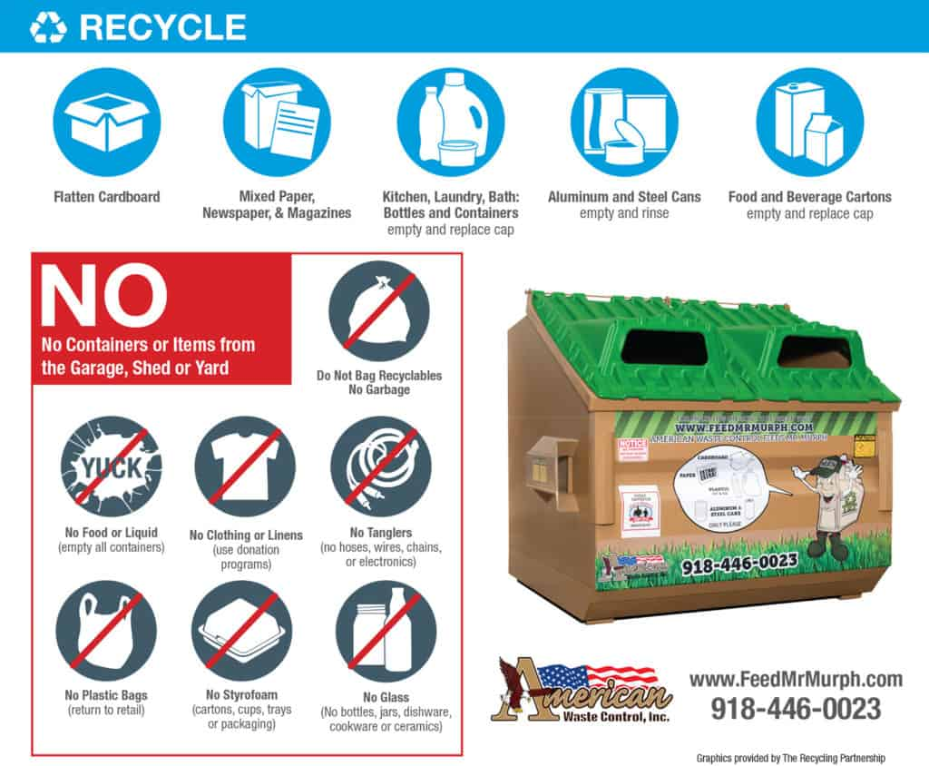What Can I Recycle in Tulsa Oklahoma